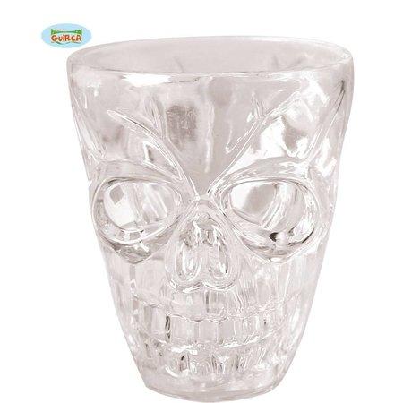 4 Shotglas glaasjes Skull Halloween