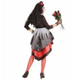 Bruid Dia De Los Muertos Vrouw Kostuum