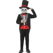 Dia De Los Muertos Jongen Kostuum