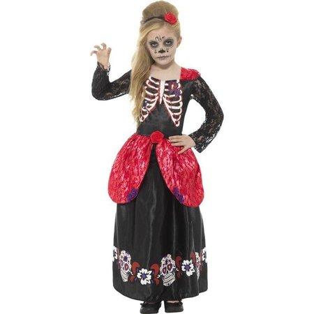 Dia De Los Muertos Meisje Kostuum
