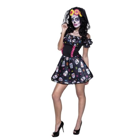 Mrs Day of the Dead kostuum