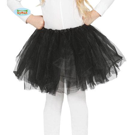 Zwarte Tutu Kind 31cm