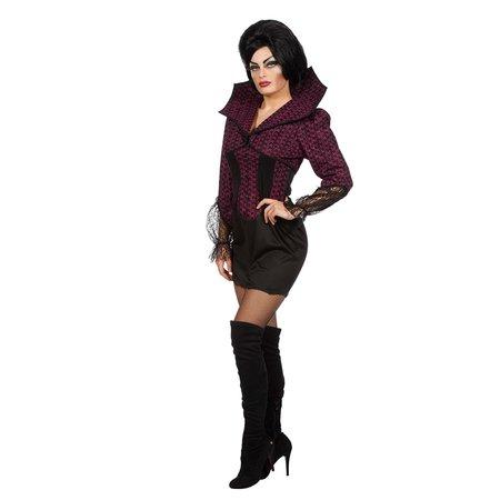 Jurk Devil Queen Halloween Luxe