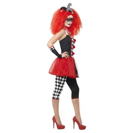 Harlekijn Jurkje Halloween Dames