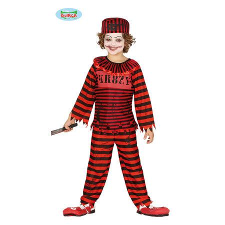 Rode Killer Clown Boeven pak kind