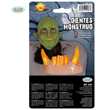 Griezelige Monster Tanden