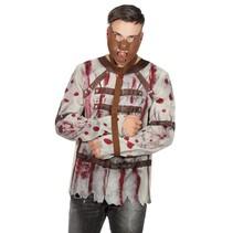 Dwangbuis Shirt bloed met riem