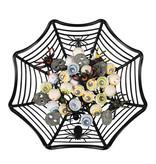 Halloweenmandje Spinnenweb (27 cm)