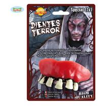 Zombie tanden met thermoplastisch pasta
