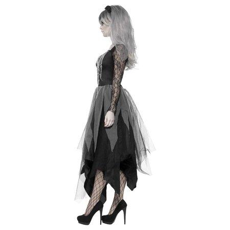 Bruid Begraafplaats kostuum