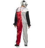Volwassenenkostuum Psycho clown