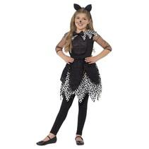 Katten kostuum kind zwart Deluxe