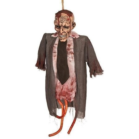 Deco Zombie hangend 75cm