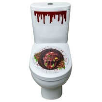 Toilet Sticker Zombie