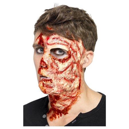 Latex kit verbrand gezicht littekens