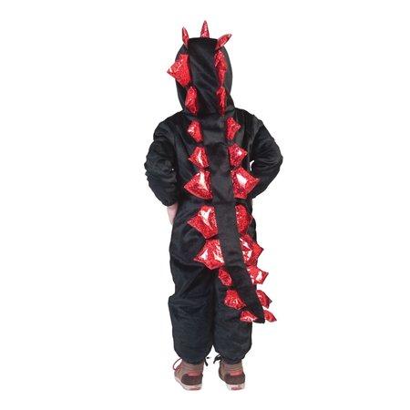 Draken Kostuum Kind Zwart