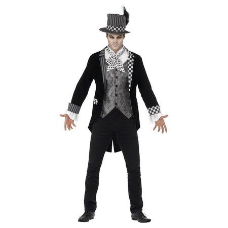Dark Hatter Halloween Heren Kostuum