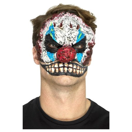Horror Clown Gezicht Latex Kit