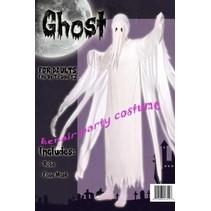 Spook Kostuum Wit Man 2-Delig