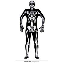 Skelet Kostuum Second Skin Man