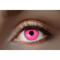 UV Flash Roze kleurlenzen 1 Maand