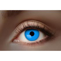 UV Flash Blauwe kleurlenzen 1 Maand
