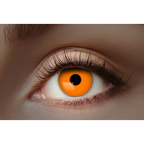 UV Flash Oranje kleurlenzen 1 Maand