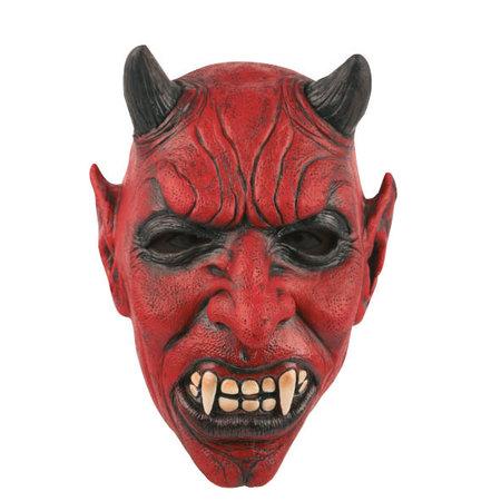 Horror Latex Masker Duivel