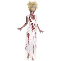High school Horror zombie Queen kostuum