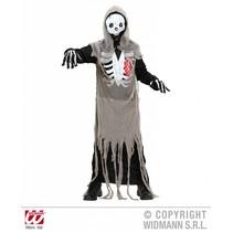 Zombie skelet kostuum kind