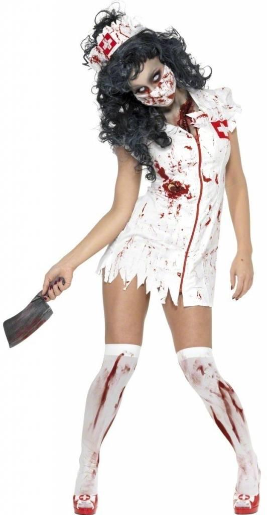 Halloween Kostuum.Zombie Zuster Halloween Kostuum Halloweenkleding Net