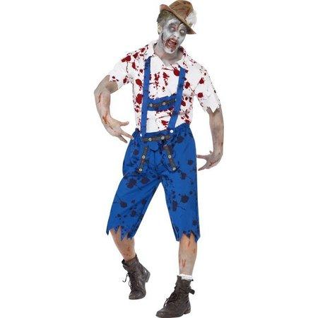 Zombie Bavaria kostuum man