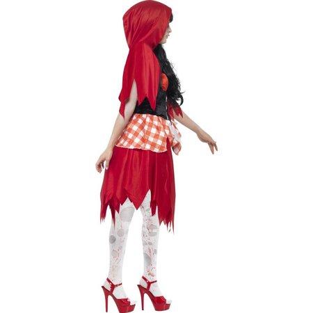 Zombie roodkapje kostuum