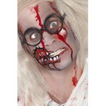 Zombie Make Up Set met Oog en Bloed