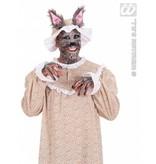 Grootmoeder wolf kostuum