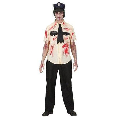 Zombie politieman kostuum
