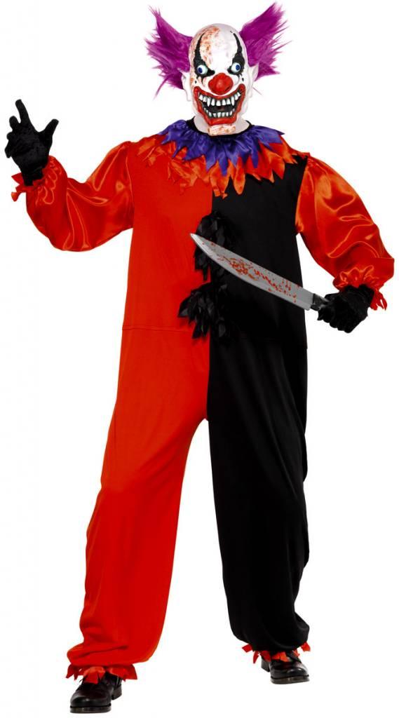 Enge Halloween Kostuums.Enge Circus Clown Kostuum