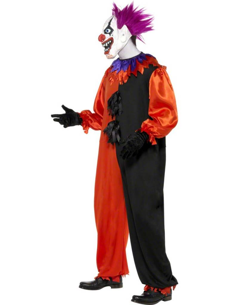 Enge Kostuums Halloween.Enge Circus Clown Kostuum