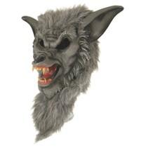 Weerwolf masker rubber