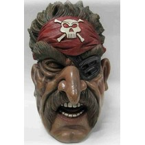 Masker Halloween Piraat foam