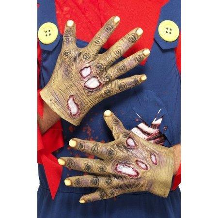 Rottende Zombie latex handen
