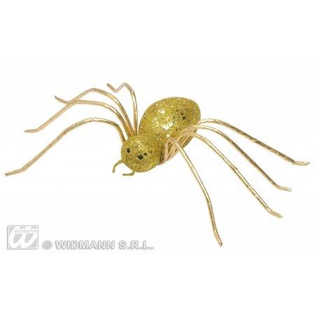 Glitter spin goud 14,5cm