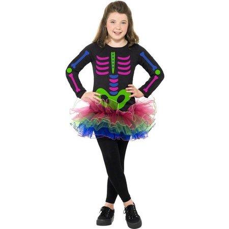 Neon Skelet pak meisje