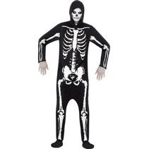 Halloween kostuum skelet
