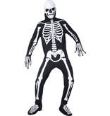 Graveyard Skeletpak lichtgevend in donker