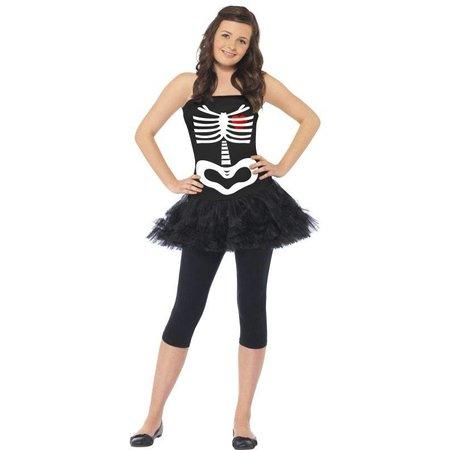 Skelet verkleedkleding tiener