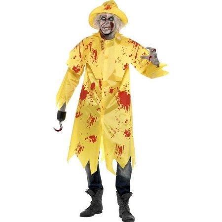 Zombie Visser kostuum