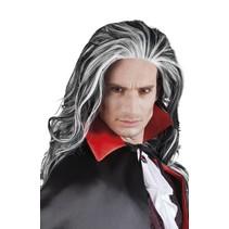 Halloween vampier pruik Angry Louis
