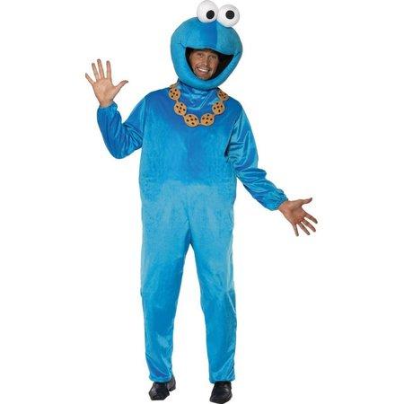 Cookie monster Sesamstraat kostuum