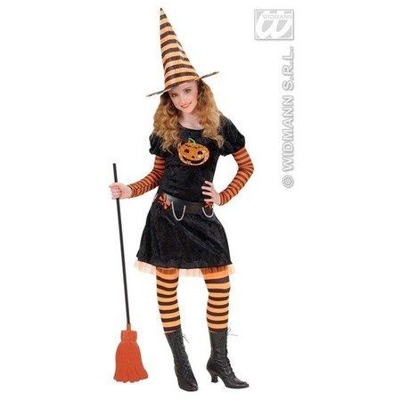 Heks Halloween Pompoen kostuum Elite